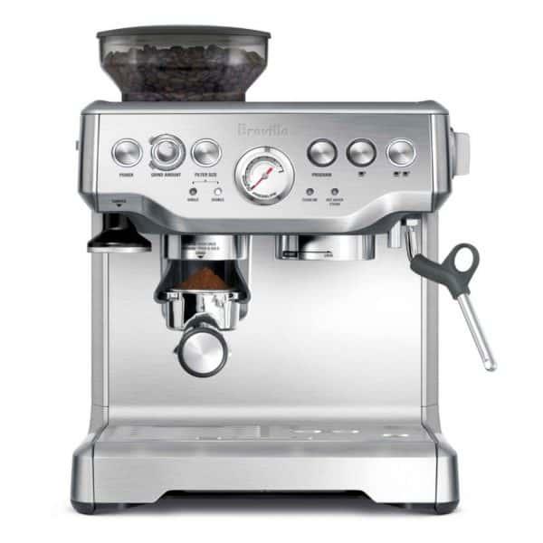 Breville Barista Express Espresso Maker in Silver