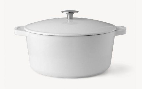 milo classic dutch oven in white