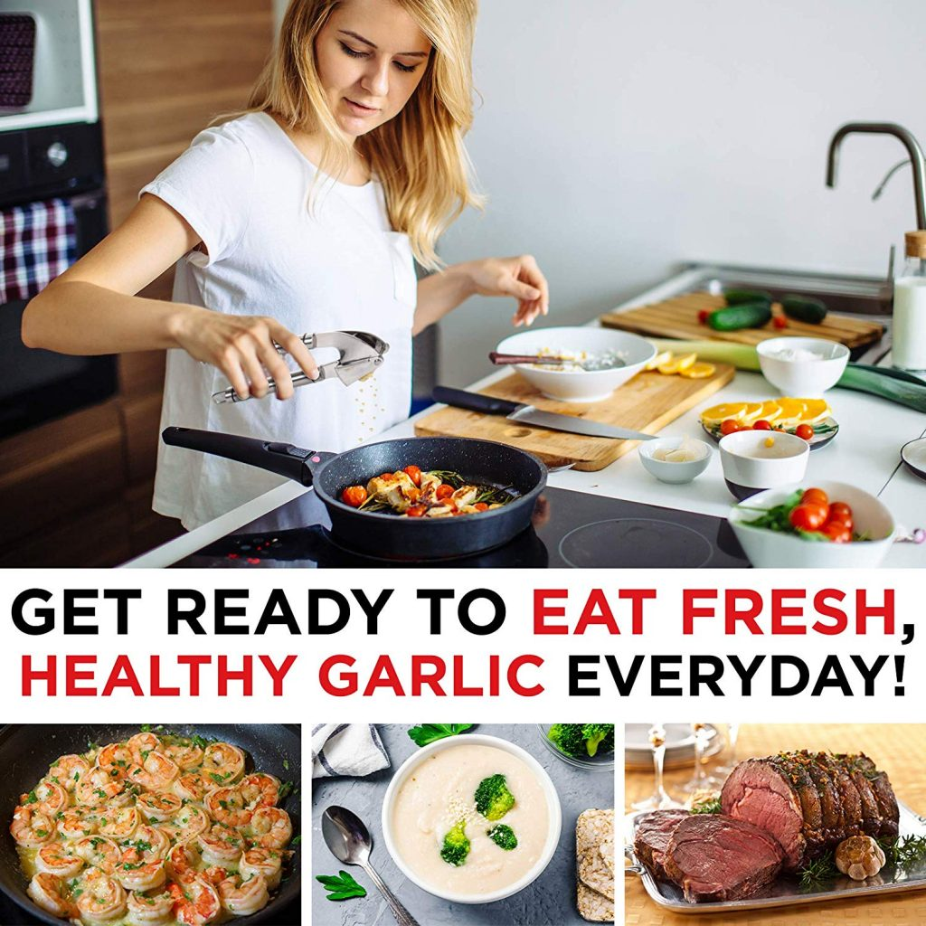 healthy garlic press