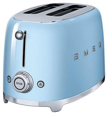 best smeg toaster blue