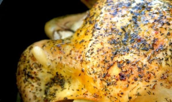 dutch oven roast chicken