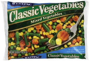 Save Money On Food with frozen veggies