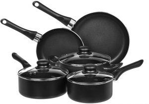 AmazonBasics Cookware Set Review