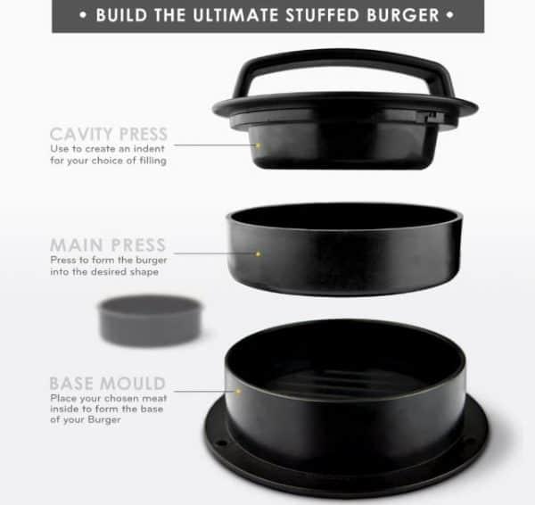MiiKO Stuffed Burger Press Review 1