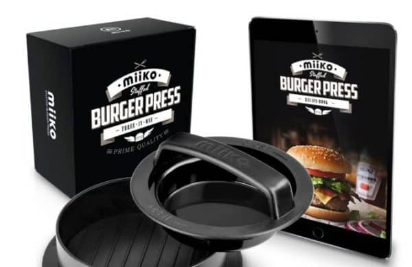MiiKO Stuffed Burger Press Review