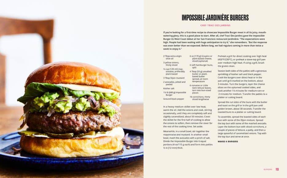impossible burger recipe