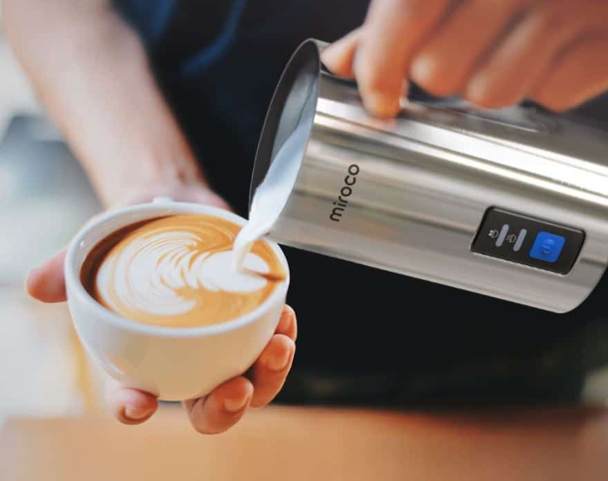 miroco milk frother