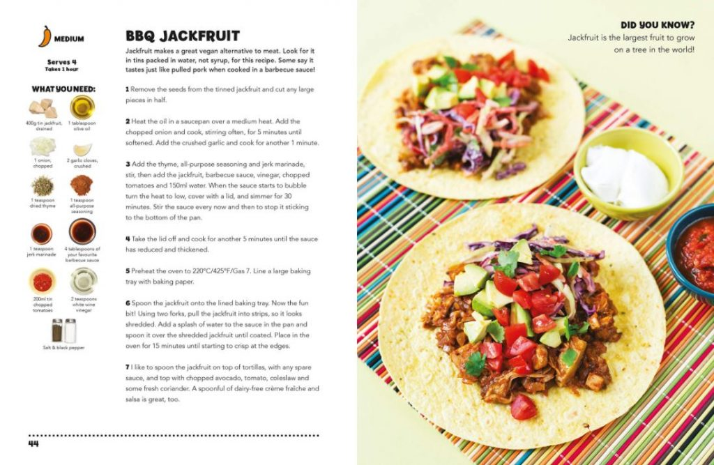 bbq jackfruit taco recipe