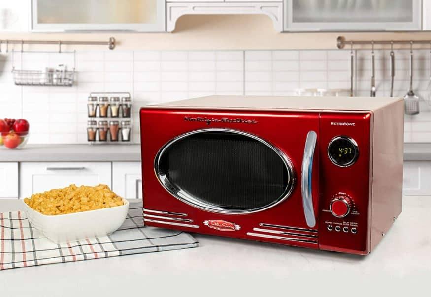 nostalgia retro microwave