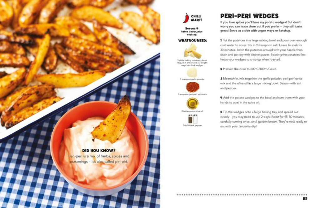 peri peri wedge recipe