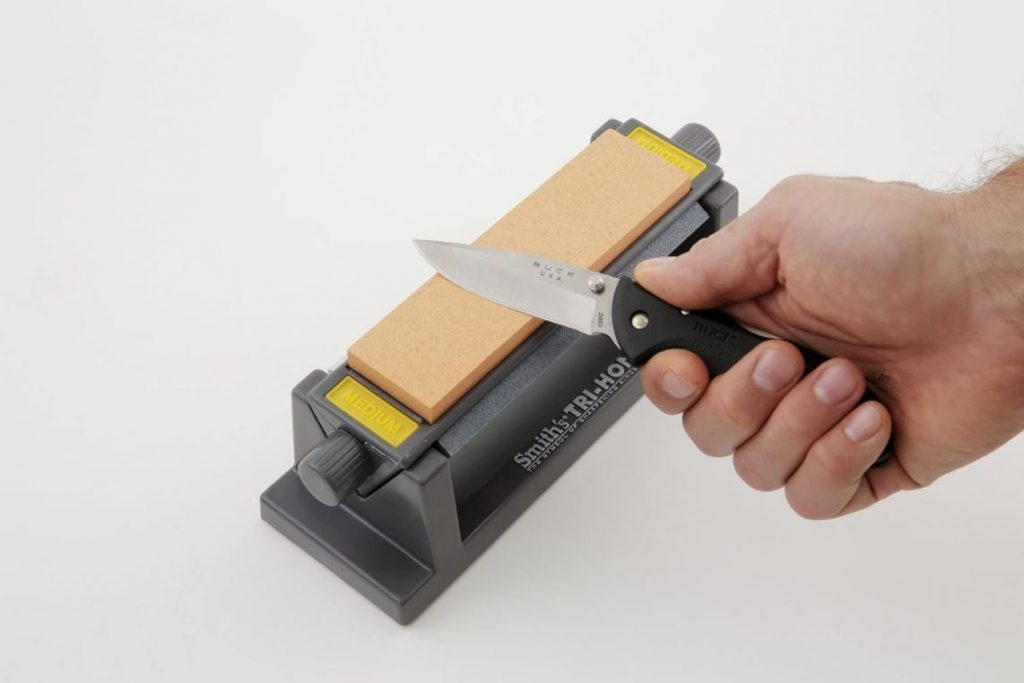 smith's tri-hone sharpening stone