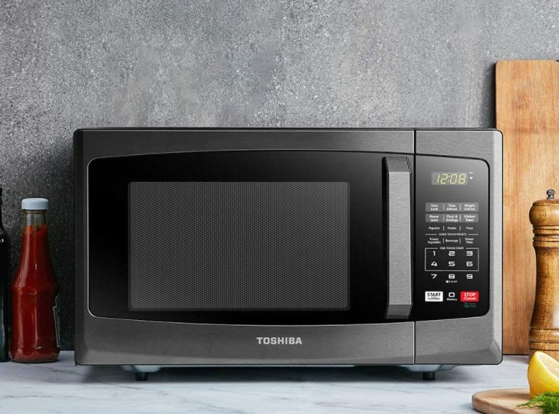 toshiba microwave with sound