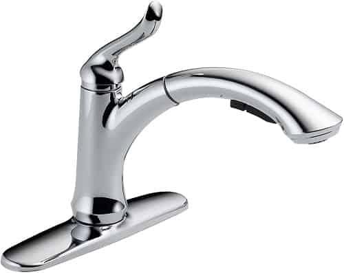 Delta Faucet Linden Single-Handle Kitchen Sink Faucet
