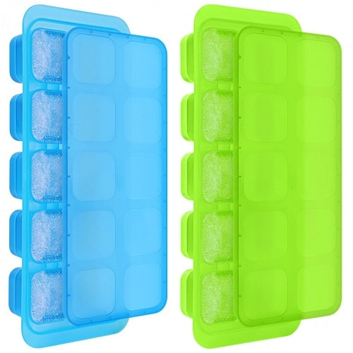 Kootek 4 Pack of Silicone Ice Cube Trays