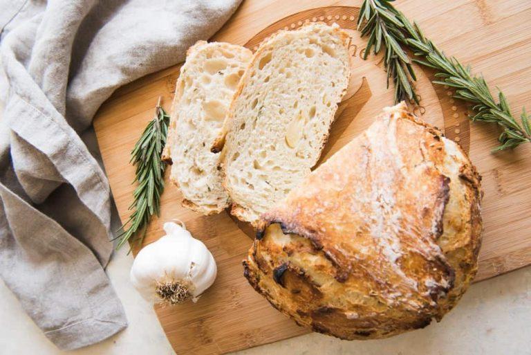 garlic artisan bread