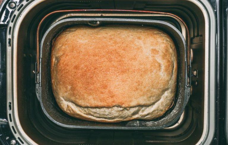 bread in bread maker