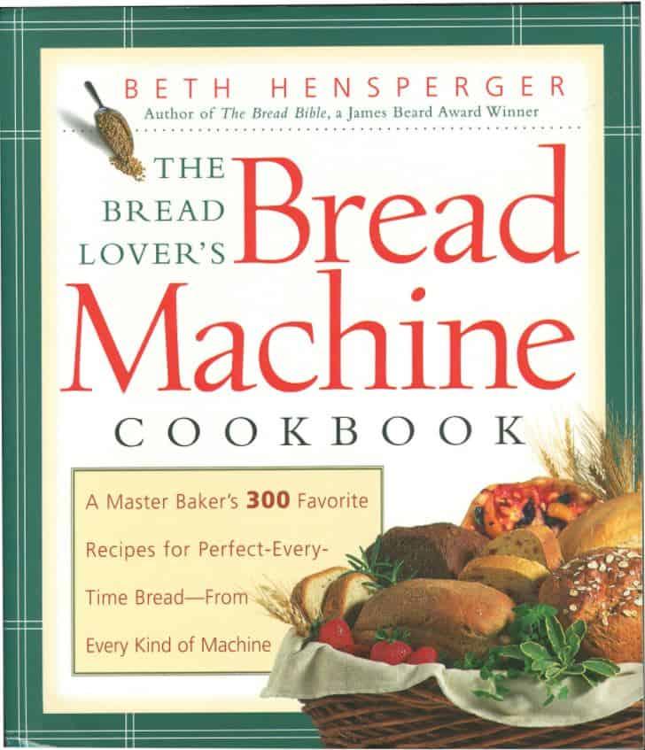 the bread lover's bread machine cookbook cover