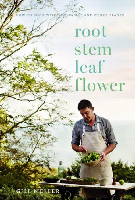 root steam leaf flower cookbook cover