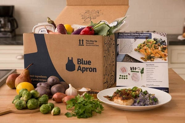 natures truth blue apron