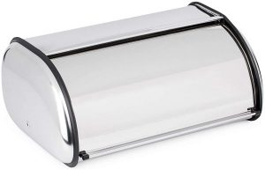 stainless steel breadbox
