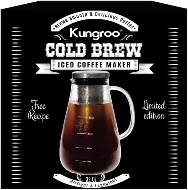 kungroo cold brew coffee maker