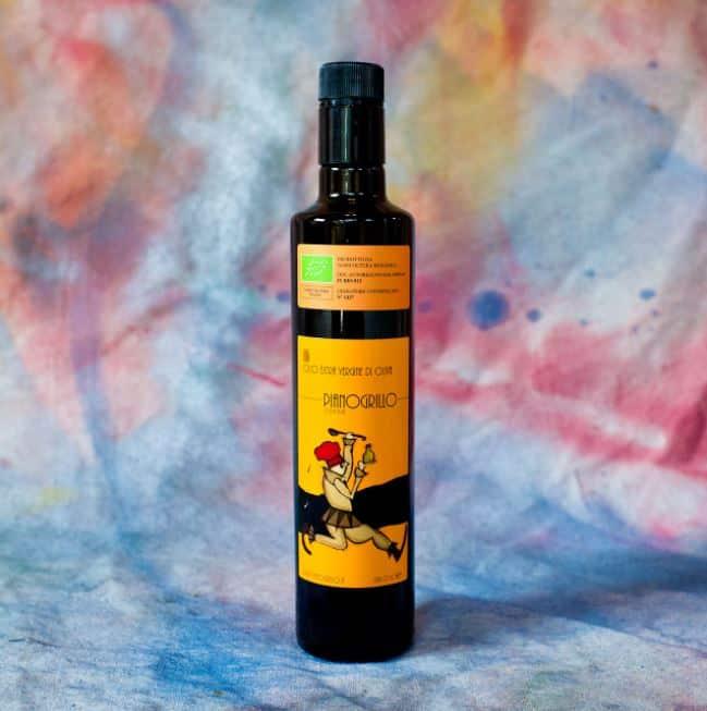 pianogrillo farm organic extra olive oils