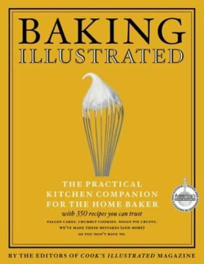 baking illustrated cookbook